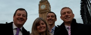 Wingate Financial Planning attend Houses of Parliament for Gold Standard Award